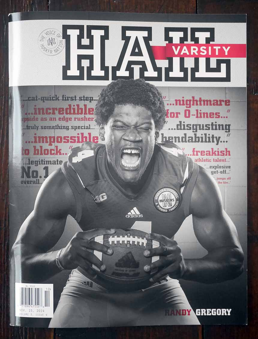 Randy Gregory Hail Varsity cover