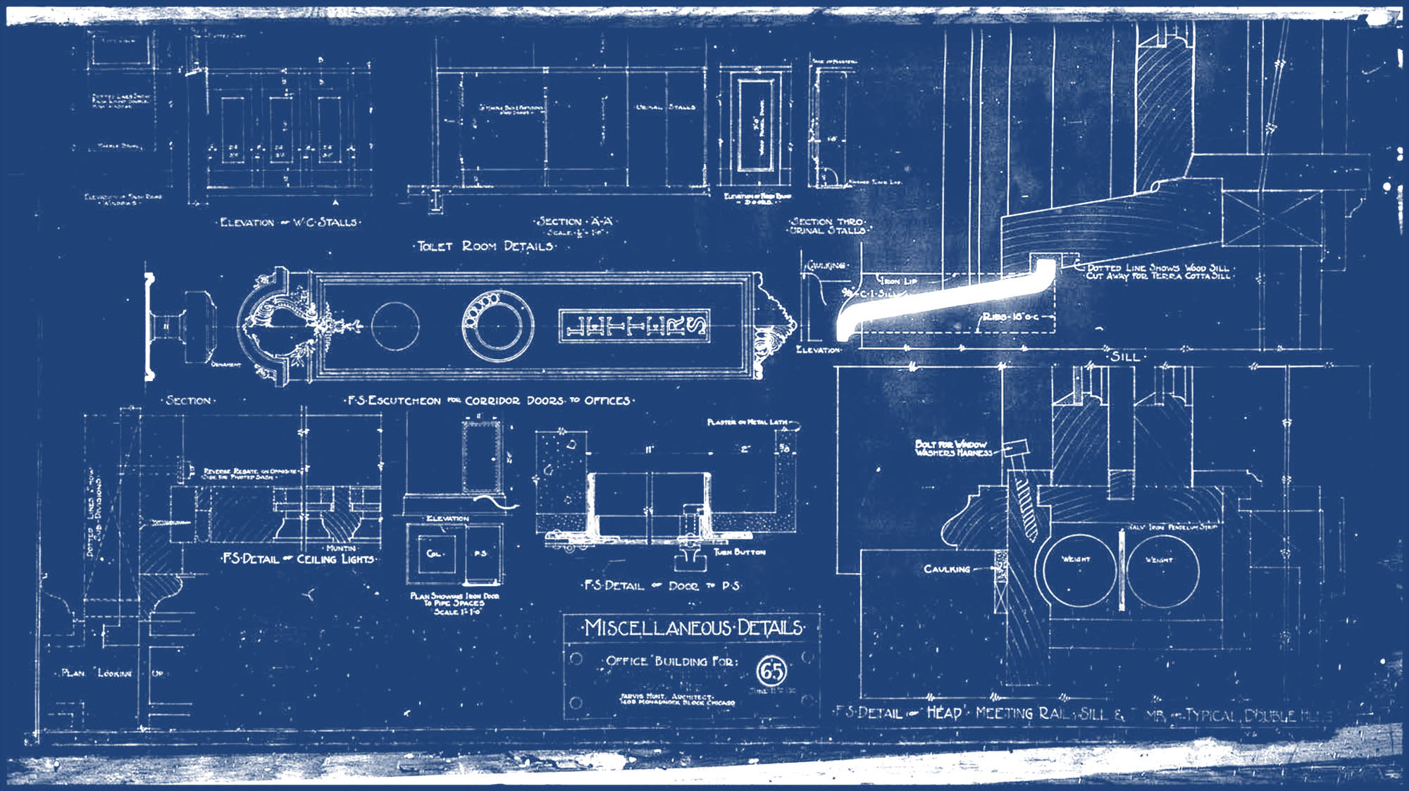 Blueprints Of House