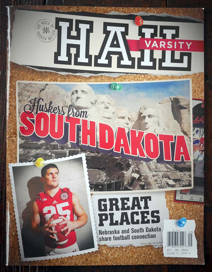 South Dakota Hail Varsity cover