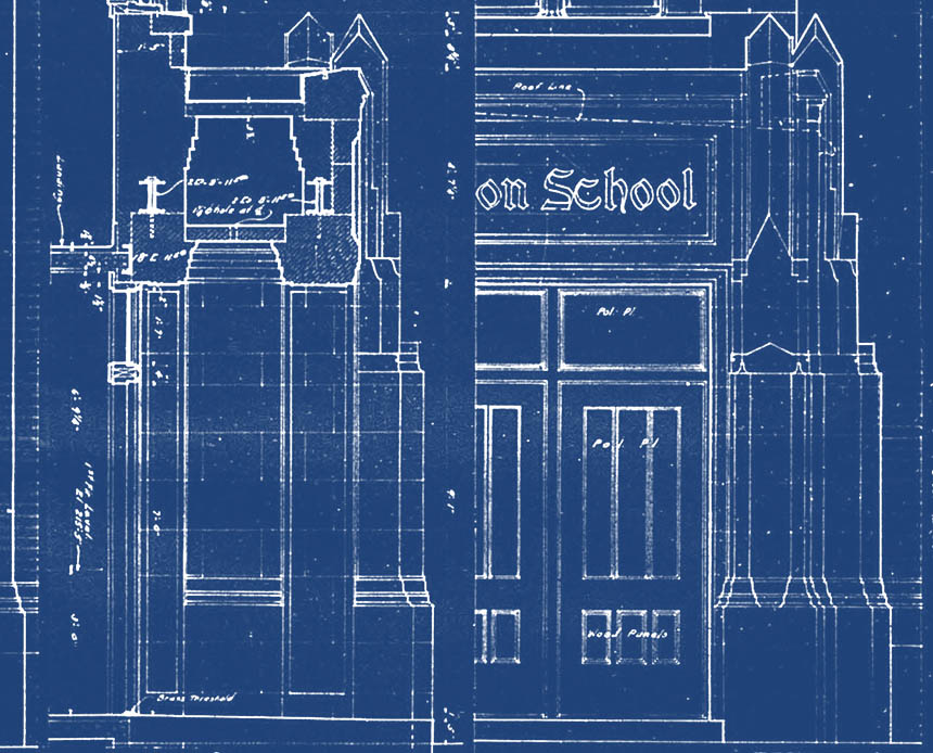 Washington Elementary blueprints